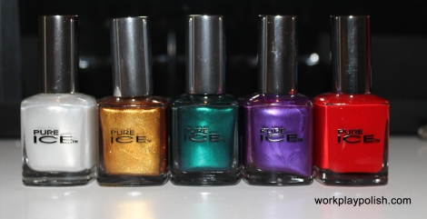 @workplaypolish Giveaway ENTIRE @OfficialPureIce Holiday Collection!