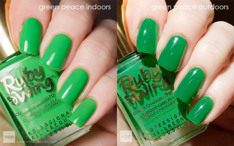 Ruby Wing Green Peace (Festival Paint Collection)